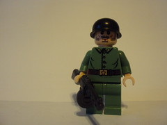 """WWII Russian Soldier (-""""Skrill""""-) Tags: soldier lego ww2 russian ppsh brickarms"""