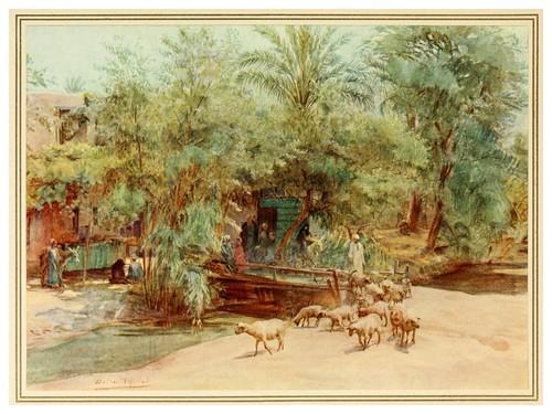 015- El pueblo de Marg-An artist in Egypt (1912)-Walter Tyndale