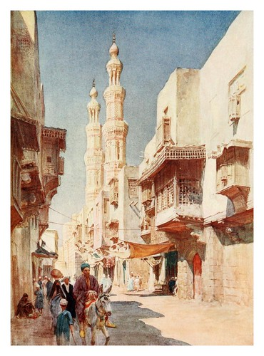 019-Los minaretes gemenlos de El-Muayyad-Below the cataracts (1907)- Walter Tyndale