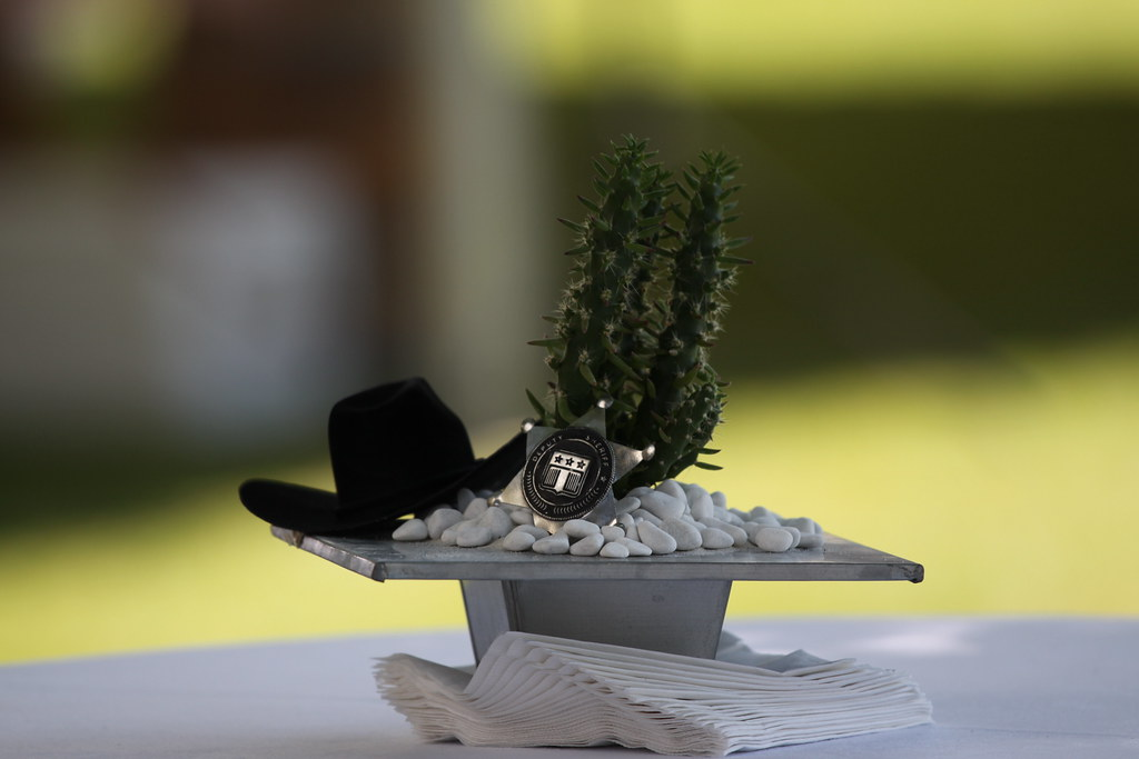 Western Motif Table Decor at the Indepence Day Celebration