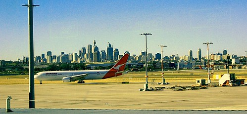 Australia, Sydney International Airport by Thomas Depenbusch, on Flickr