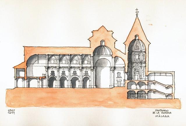 Málaga, Santuario de la Victoria