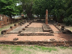 Ayutthaya, Wat Mahathat (Stewie1980) Tags: thailand temple ruins finepix fujifilm wat ayutthaya chedi mahathat a700    fujifilmfinepixa700