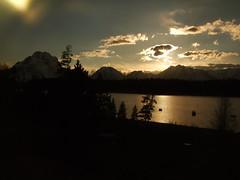 Sunset over Jackson Lake (j a thorpe) Tags: sunset nationalpark wyoming grandtetons jacksonlake signalmountainlodge