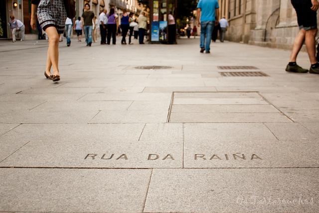 Rúa da raíña