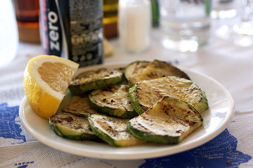 grilled zucchini @ dimitris