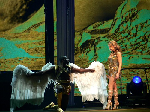 aphrodite and the angel