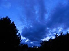 Getting dark..