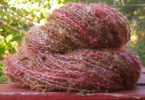 TdF11 Day 5 - Mohair Boucle Yarn