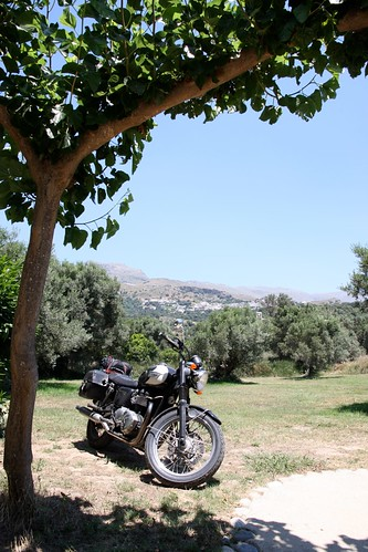 Bike in Plakias, Crete, Greece - 2