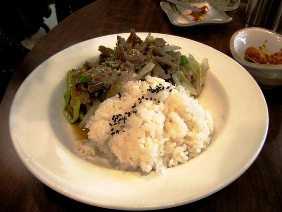 プルコギ丼 韓国伝統家庭料理 本家(ボンガ)