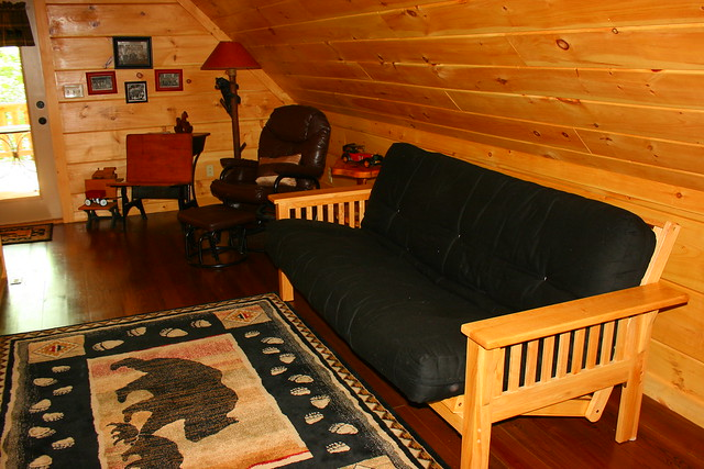 Loft area (upstairs)