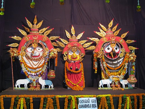 Banabhoji Besha – Costume Of Lord Jagannath