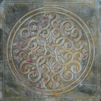 Distressed-Medallion-Inlay
