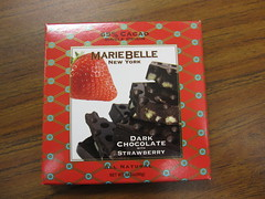 Marie Belle Dark Chocolate with Strawberry