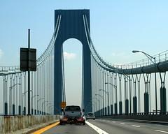 Verrazano-Narrows Bridge over The Narrows, Brooklyn-Staten Island, New York City (jag9889)