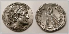 Ptolemy VI Philometor (mihali84) Tags: silver egypt cyprus viii vi ptolemy tetradrachm euergetes philometer