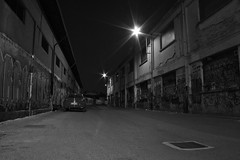 Be careful (Giacomo Carena) Tags: street night dark lights graffiti strada alfa mito notte lampioni giacomo pavia scura cupa carena jekkone