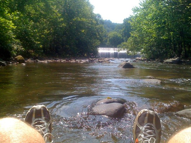 tubing the patapsco river by bloedes damn