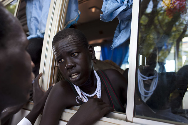 Nuer teenager by Conor Ashleigh