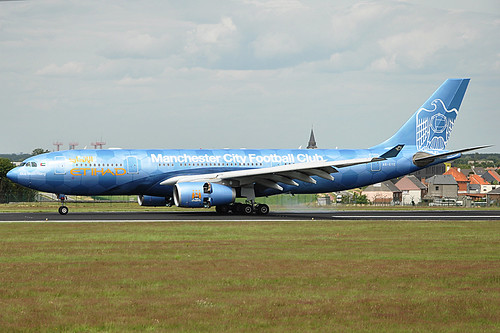 ETIHAD A6-EYE A330 MANCHESTER CITY FC