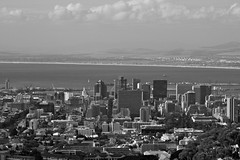 aerial view of section of Cape Town (WITHIN the FRAME Photography(3 Million views tha) Tags: city urban buildings southafrica aerialview capetown tablebay eos7d best4gpin