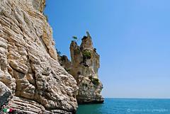 Il Gargano visto dal mare.   2 (Salvatore Lo Faro) Tags: nature nikon italia mare natura cielo azzurro puglia faraglioni gargano