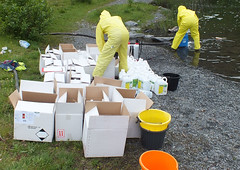 Gallons of chemicals (rowanlea51) Tags: toxic scotland control slate poison quarry chemical ballachulish lochaber biocide slatequarry
