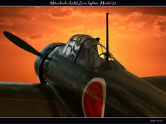 Mitsubishi A6M Zero (Matthias Harbers) Tags: light sunset sky japan museum photoshop plane japanese tokyo evening nikon marine war fighter sonnenuntergang pacific air wwii navy himmel krieg worldwarii labs imperial dxo service d200 airforce flugzeug sonne zero mitsubishi topaz abendrot weltkrieg pazifik chiyoda 18200mm a6m kampfflugzeug fighteraircraft japanesenavy jagdflugzeug mitsubishia6mzero kriegsmuseum flickraward model52 nikonflickraward yshkan imperialjapanesenavyairservice ijnas flickraward5 traegerflugzeug trgerflugzeug lufkrieg