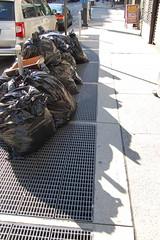 Garbages (koborin) Tags: nyc newyorkcity travel ny newyork garbage manhattan uptown uppereastside