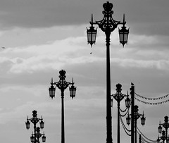LAMPPOST (Pilar P del Real) Tags: uk sky brighton lamppost gb farolas