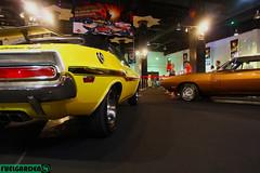 Dodge Challenger & Dodge Charger (fuelgarden) Tags: show international malaysia motor kuala kualalumpur lumpur carphotography carculture automotivephotography 2013