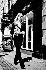 Free Eye Test (ClanSurik) Tags: city people urban blackandwhite bw woman monochrome contrast interesting candid streetphotography documentary highcontrast moment capture bnw streetscenes eyetest streetporn blackandwhitestreetphotography streetsnaps surikpictures clansurik nikond5300 eyelady