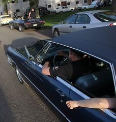 Cadillac 1965 (Drontfarmaren) Tags: pictures classic car vintage spring iron gallery sweden cruising cadillac american bilder 1965 vår öland 2014 galleri borgholm drontfarmaren