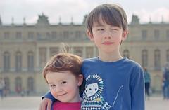 Versailles (Daire Quinlan) Tags: holiday paris colour film 35mm nikon kodak mark f100 lara versailles april xl 100asa asa100 2014 quinlan 105mm c41 profoto ljiljana 105mmf25ais adamovic