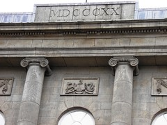1820 (MDCCCXX) Building in Belfast (Normann) Tags: northernireland belfast date 1820