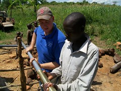 Preparing the pump to be placed in the well