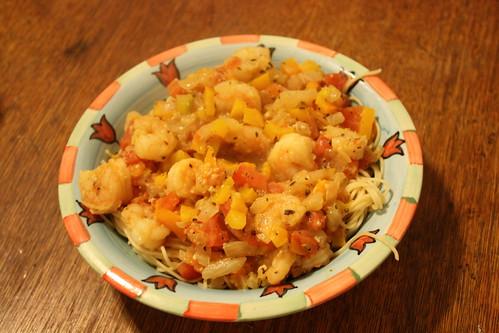 Pasta and Shripm 2
