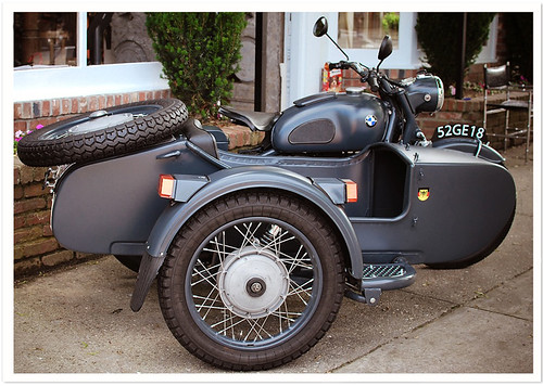 BMW Motorcycle & Sidecar