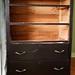 old brown dresser