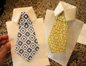 Neck Tie Gift Bag