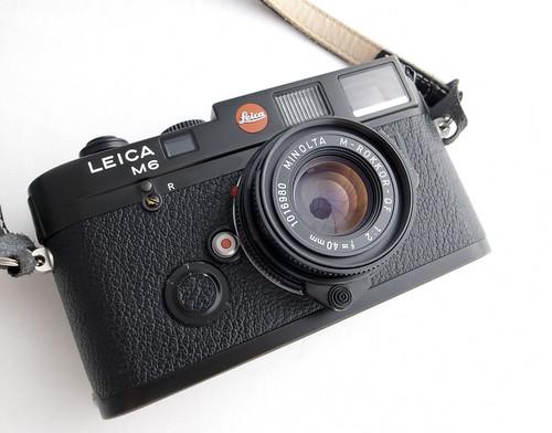 Leica M6 w/Rokkor 40mm F2