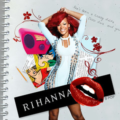 Rihanna - Whos That Chick by B-POP (B-POP) Tags: david collage by photoshop that photoshoot spears christina chick header britney diseo loud firma aguilera whos desing blend guetta rihanna bpop brianpop
