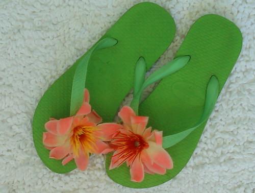 Aloha - HaVaianas vestidas de haWaianas!