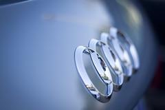 Welcome home beautiful lady! ♥ (Lucrezia Cosso) Tags: auto blue car canon eos grey grigio blu audi canoneos1000d