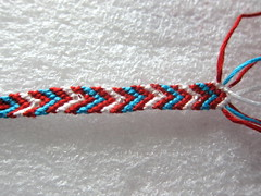 Iron Craft Challenge #26 - Beaded Friendship Bracelets