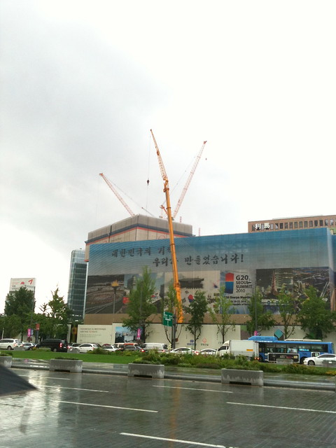 Construction, typical Seoul