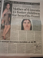 Women - fraudsters and invisble at 46