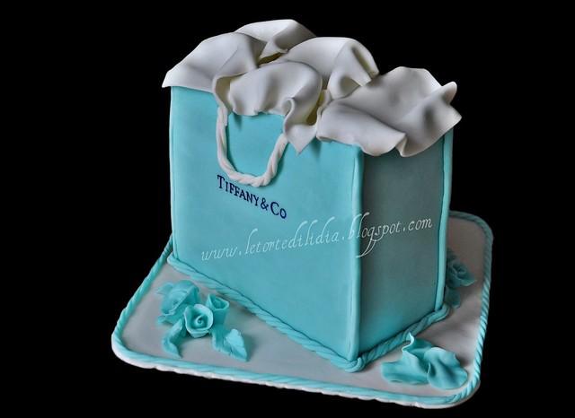 Busta Tiffany...Tiffany bag
