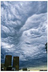 Cloudscape in the West Loop - Number 2221 (swanksalot) Tags: cloud chicago clouds westloop presidentialtowers 18mm200mm swanksalot sethanderson